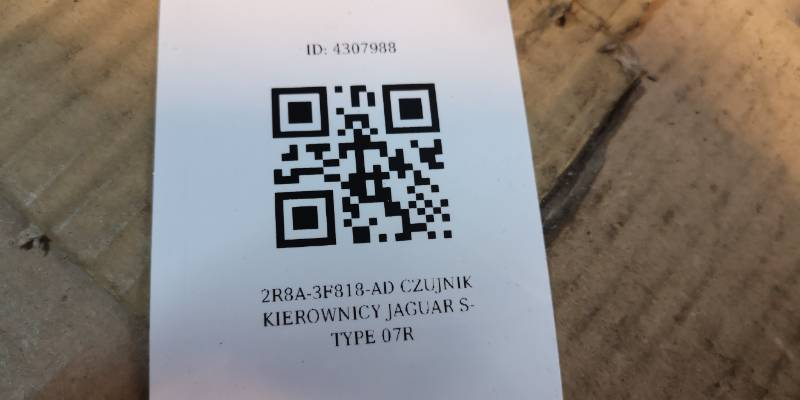 2R8A-3F818-AD CZUJNIK KIEROWNICY JAGUAR S-TYPE 07R