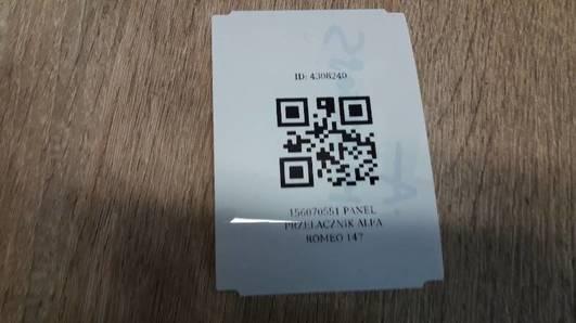 156070551 PANEL PRZELACZNIK ALFA ROMEO 147