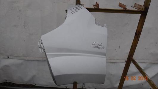 FIAT DUCATO,BOXER 06- BŁOTNIK POSZYCIE PRZÓD LEWY