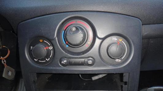 RENAULT CLIO III 2005- PANEL NAWIEWU KLIMATYZACJI