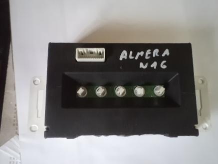 NISSAN ALMERA N16 PANEL WYSWIETLACZ EKRAN LCD