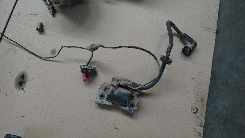 Silnik ROBIN EH34 Moduł zapłonowy, cewka zapłonowa