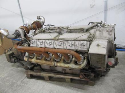 Silnik DEUTZ BA12L714 LOKOMOTYWA KHD, ESSLINGER