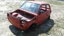 FIAT 126P FL MALUCH KAROSERIA BUDA CAŁY SZKIELET