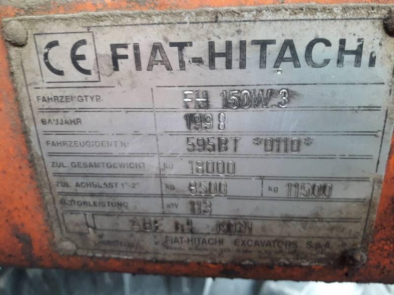 FIAT Hitachi FH 150W3 SILOWNIK BOCZNY DOLNY RAMIEN