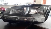 Fabia III 6v1941015d reflektor lewy uszkodzony