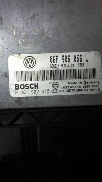 KOMPUTER 06F906056L 0261S02015 VW PASSAT 04- 2.0
