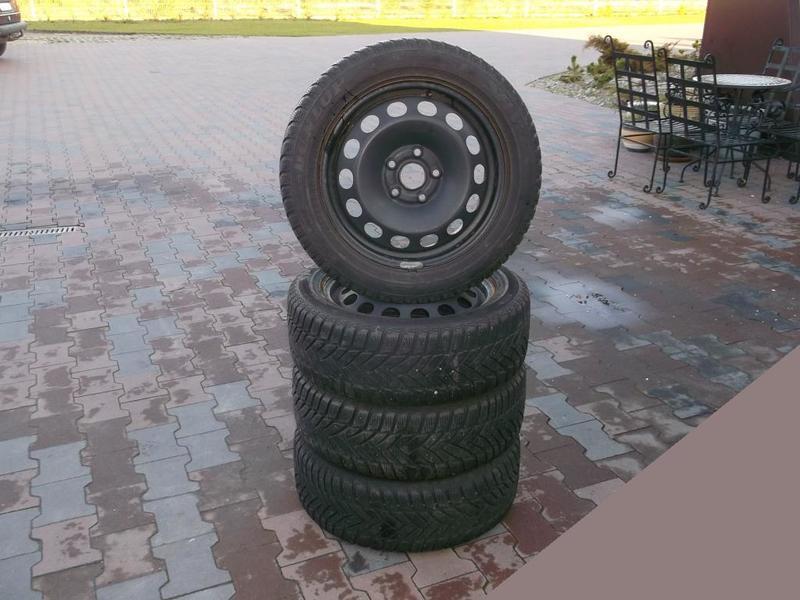 Koła Felgi Opony Audi A3 8p0 Zima Zimowe 16 Cali Do Samochodów