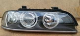 Xenon prawy Lampa Prawa BMW E39 2000- Biały migacz