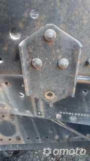 Wieszak uchwyt  stabilizatora tył MAN TGL TGM