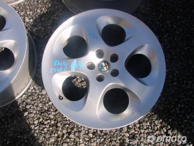 Alfa Romeo 147 Gt Felgi Aluminiowe 17 5x98 Et405 Aluminiowe
