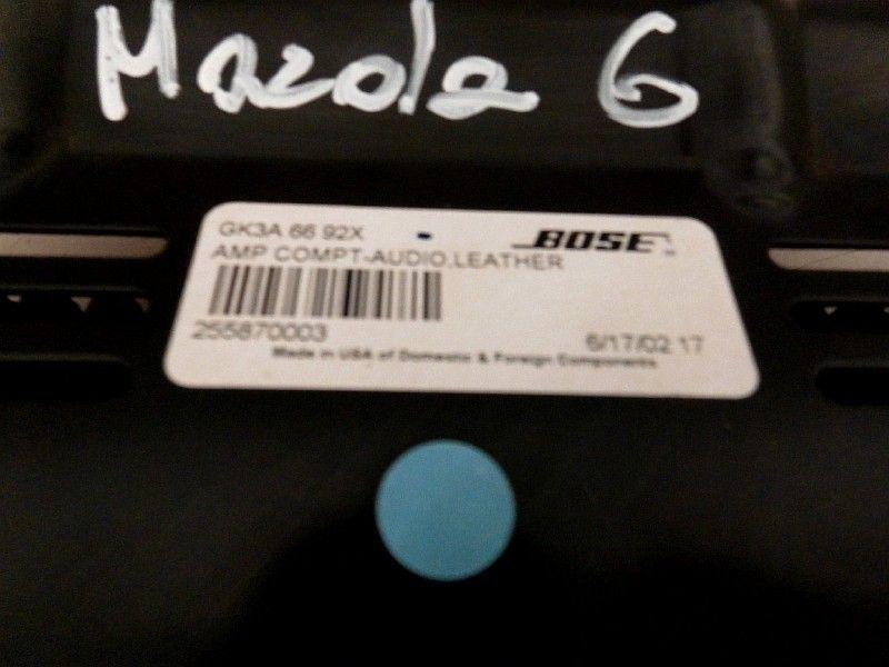 WZMACNIACZ BOSE 255870003 MAZDA 6 02-08