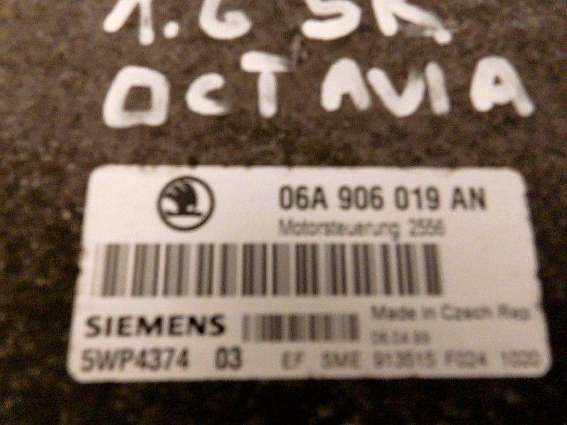 KOMPUTER STEROWNIK SKODA OCTAVIA I 06A906019AN