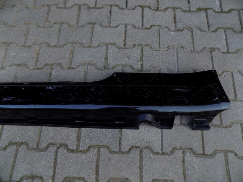 BMW E63 E64 CZARNA LISTWA PROGOWA LEWA 03-07